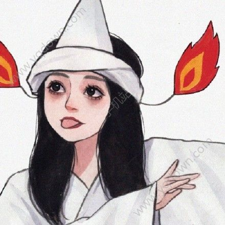 袁湘琴扮鬼表情包