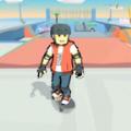 滑板特技竞赛游戏
