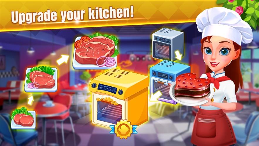 模拟美食制作游戏