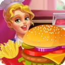 开心汉堡制作餐厅