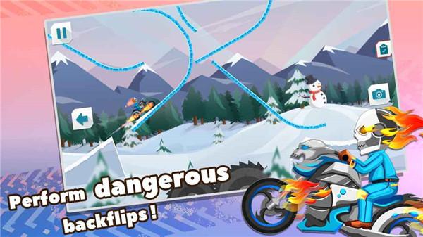 狂野特技摩托车