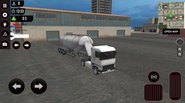 重型卡车司机模拟器游戏