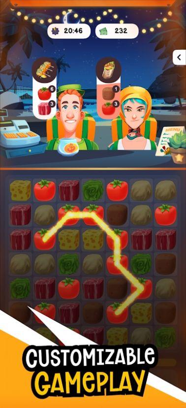 食物狂潮谜题游戏