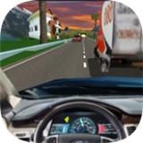 交通赛车驾驶舱3D