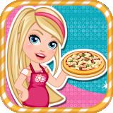 芭比做披萨